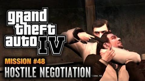 GTA 4 - Mission 48 - Hostile Negotiation (1080p)