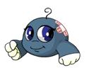Blue Kiko reversed