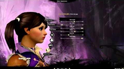 Guild Wars 2 - Open Beta - Human Mesmer Character Creation Cutscene