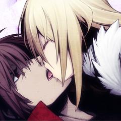 Present kisses scrooge