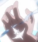 Shuu's Power of the King mark left clear view