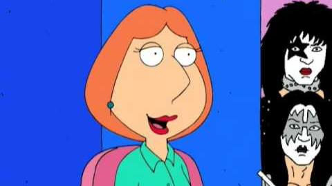 Family Guy-Lois advise -Family guy-Kiss concert