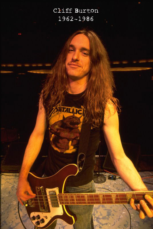Image - Metallica's original Bass Guitarist Cliff Burton ...
