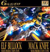 Elf Bullock Mack Knife Mass Production Type