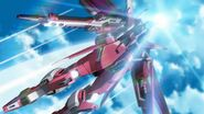 Infinite Justice Launching SEED Destiny Remaster 42 HD