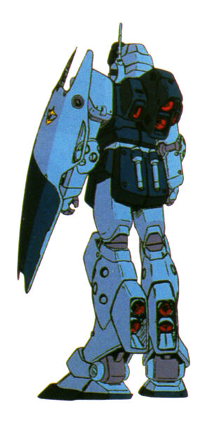 RGM-79SP(GM SNIPER II) back