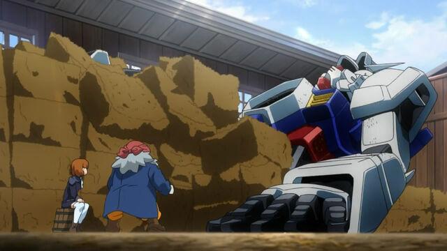 File:Gundam in stable.jpg