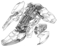 Hyaku Shiki - Leg Unit