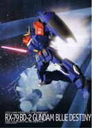 Model Kit Blue Destiny Unit 2
