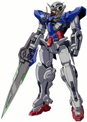 GN-001REII - Gundam Exia Repair II - Front View