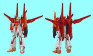 Hyper Zeta Gundam Honoo Front Rear