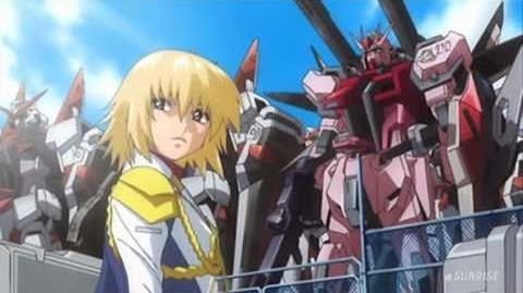 159 MBF-02 Strike Rouge (from Mobile Suit Gundam SEED Destiny)