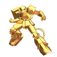 Zaku Gold Coating