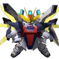 Unit ss gundam double x g-falcon