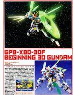 HG - GPB-X80-30F Beginning 30 Gundam