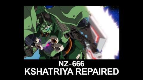 MSUC23 KSHATRIYA REPAIRED(from Mobile Suit Gundam UC)