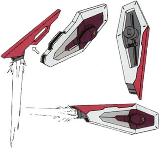 File:RQM55 Shining Edge beam boomerang mounted on MX2002 beam carry shield.jpg