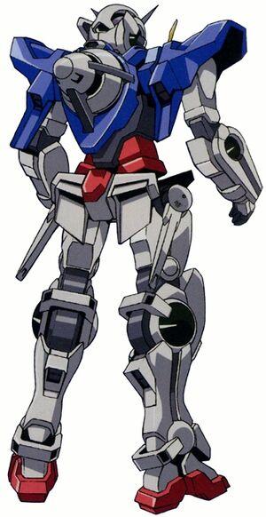 GN-001REII - Gundam Exia Repair II - Back View