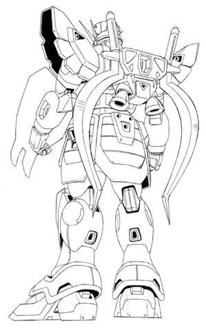 File:XXXG-01SR Gundam Sandrock Back View Lineart.jpg