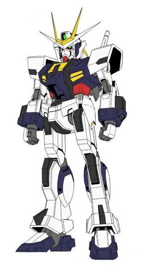 Extreme Gundam Front View
