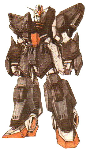 FA Zeta Gundam - Front View