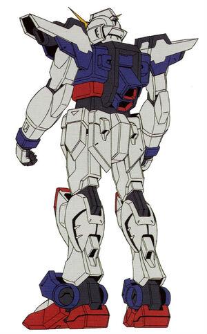 GAT-FJ108 - Raigo Gundam-Rear