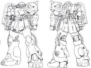 Katoki Hajime HGUC FZ Lineart