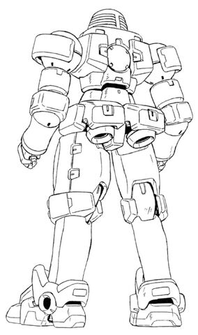 File:OZ-06MS Leo Back View Lineart.jpg