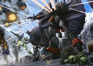 Destroy Gundam Battle
