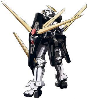GN-004te-A02 - Gundam Nadleeh Akwos - Back View