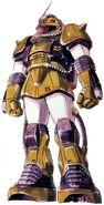 MS06MZaku MarineType - Zeon Colors