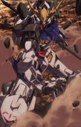 ASW-G-08 Gundam Barbatos (1st Form) (Episode 03) Close Up (3)