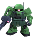 Unit cr zaku ii minelayer