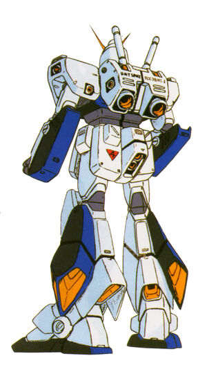 RX-78NT-1(ALEX) back