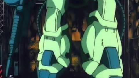 221 MS-06F-2 Zaku II F2 (from Mobile Suit Gundam 0083)