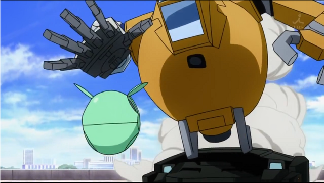 File:Mobile Pod equipped with gundam arm (Gundam AGE).png