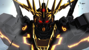 Gundam Banshee 02 Front View Ep 5