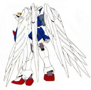 EW Ver. (Wing Zero Custom)-Rear
