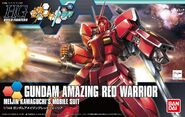 Gundam Amazing Red Warrior Boxart