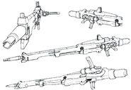 Lightning Gundam Beam Rifle (Long Barrel) details