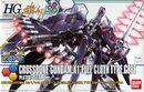 HG Crossbone Gundam X-1 Full Cloth Type.GBFT Plated Clear Ver
