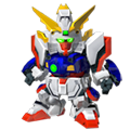 Unit as shining gundam super mode