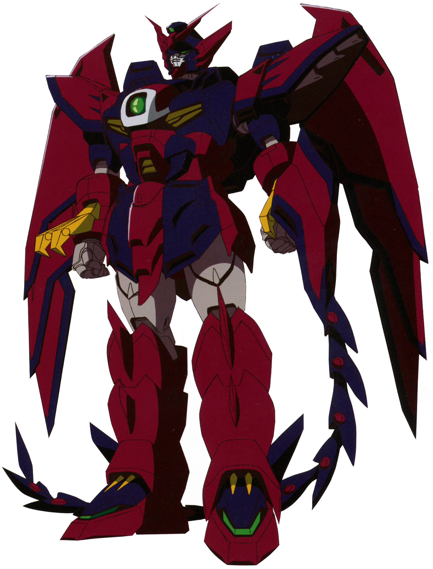 OZ-13MS Gundam Epyon in mobile suit mode