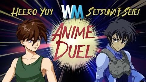 Anime Duel Heero Yuy vs Setsuna F. Seiei