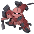 Unit as zaku amazing