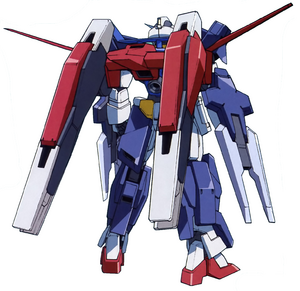 AGE-1G Gundam AGE-1 Gransa Full Gransa Rear