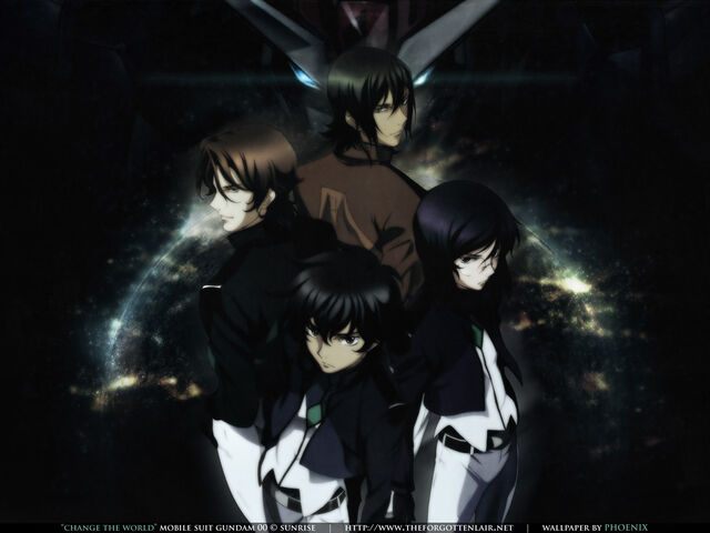 File:Gundam Meister's of Celestial Being.jpg