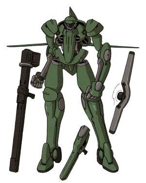 Front (w/ armaments)