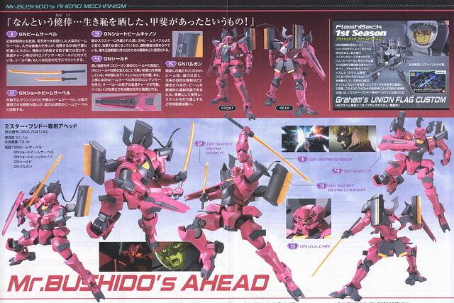 File:HG Ahead Sakigake Manual Spread.jpg