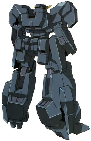 Seravee Gundam II Unarmed Rear
